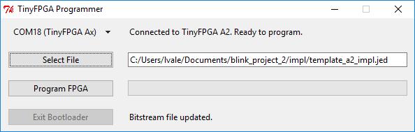 TinyFPGA A-Series User Guide
